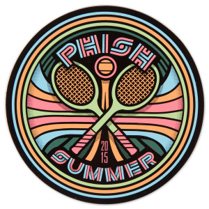 Tennis Summer Tour 2015 Sticker