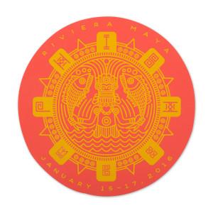 Riviera Mexico Sticker