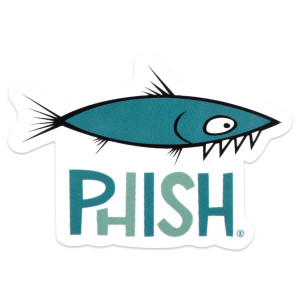 Aggro Phish Sticker