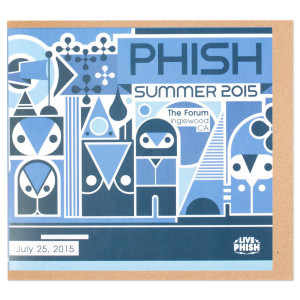 Live Phish 7/25/15 - The Forum