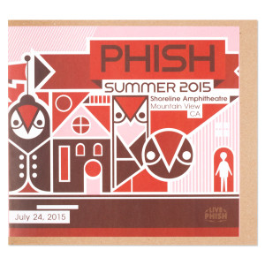 Live Phish 7/24/15 - Shoreline
