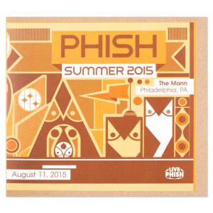 Live Phish 8/11/15 - Philly