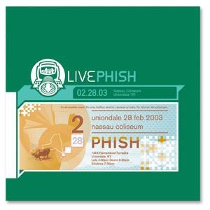 Live Phish 2/28/03