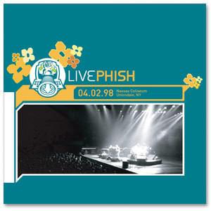 LivePhish: 4/2/98 Nassau Coliseum, Uniondale, NY (3CD)