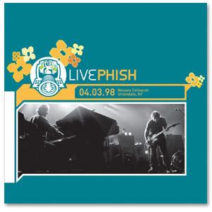 LivePhish: 4/3/98 Nassau Coliseum, Uniondale, NY (3CD)