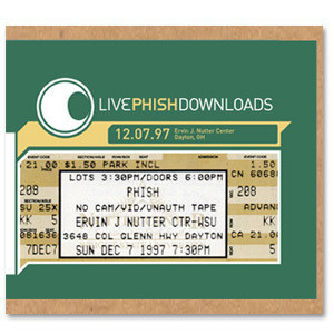 Live Phish 12/7/1997