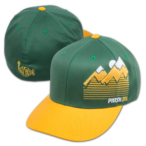 Throwback Flatbrim on Green/Yellow