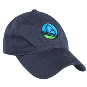 WaterWheel Unstructured Baseball Cap