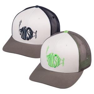 Classic logo on Mesh Snapback Hat