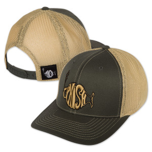 Classic logo on Mesh Flexfit Hat