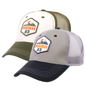 Ascend 83 Snapback Hat - Grey Mesh/Navy Brim