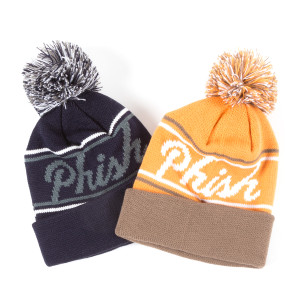 Kids Vintage Hockey Pom Beanie