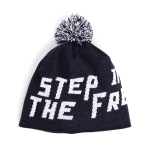 Step Into The Freezer Knit Pom Beanie