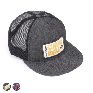Curveball Racing Cap Patch Baseball Hat