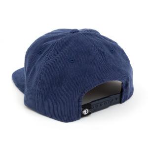 Blue Cord Baseball Hat
