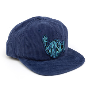 Blue Cord Baseball Hat