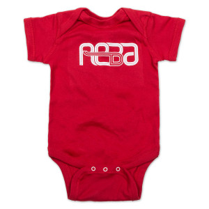 Reba Onesie on Red