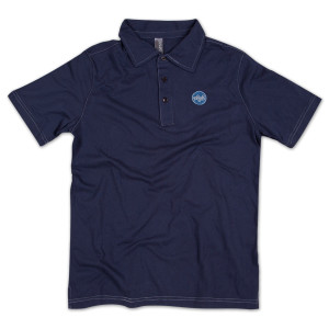 Puck Polo Shirt on Navy