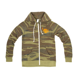 Women's Rocky Printed Eco-Fleece Zip Hoodie