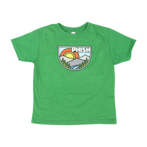 Kids Great Outdoors T-Shirt on Vine Green