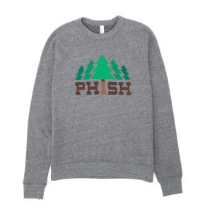 Timber Crew-neck Sweatshirt on Heather Grey Triblend