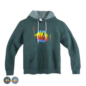 Classic Rainbow Logo Hoodie