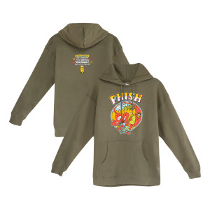 Fall Tour Breezy Leaf Hoodie