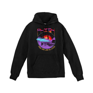 Dusty Garden Cloud NYE 2018 Hoodie on Black