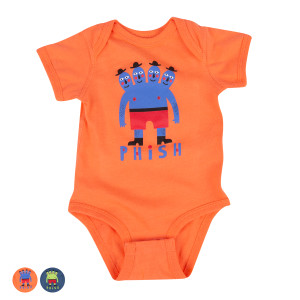 Four Headed Dude Onesie
