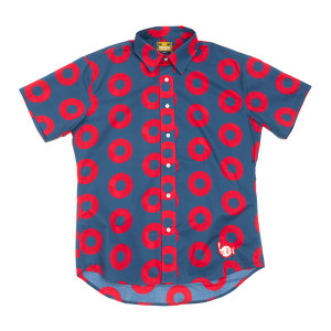 Fishman Donut Button Down Shirt