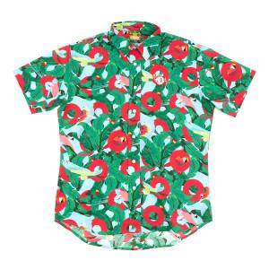 Riviera Maya Macaw Button Down Shirt