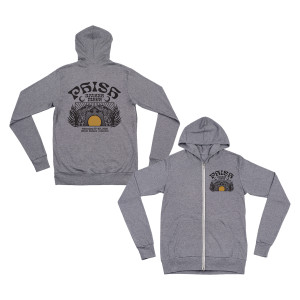 Big Cat Riviera Maya Tee Lightweight Zip Hoodie