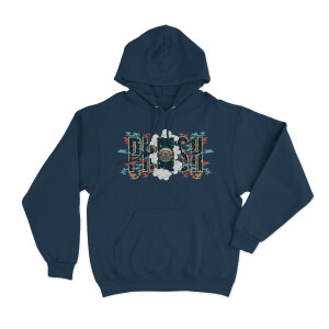 Door To Nowhere Pullover Hoodie on Legion Blue