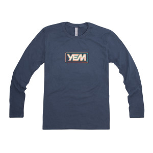 YEM Long Sleeve on Indigo