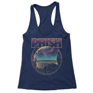 Women's MSG Vortex Mountain New Year's 2017 Tank on Navy
