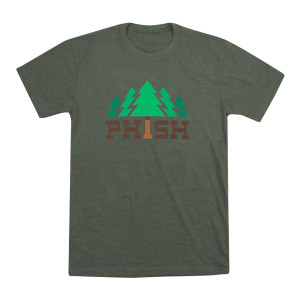 Timber T on Heather Military Green