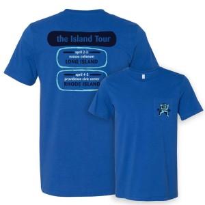 Island Tour Redux Pocket T on Royal
