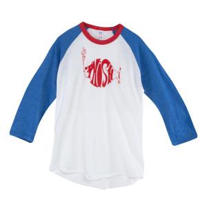Kids Fireworks Raglan Baseball Shirt