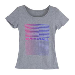 Women's Curveball Classic Redux Tri-Blend Gym Tee