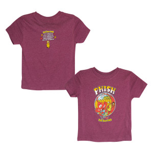 Fall Tour Breezy Leaf Kids T-shirt