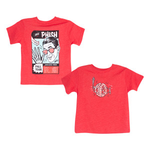 Fall Tour X-Ray Specs Kids T On Red