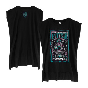 Fall Tour Women's Fortune Teller Muscle Tee