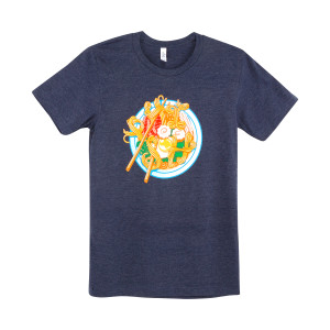 2018 Ramen Redux T-shirt on Heather Navy