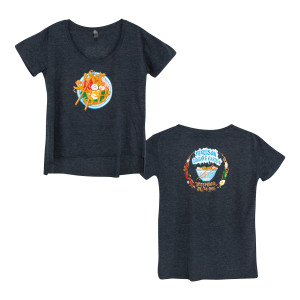 Women's 2018 Ramen Redux T-shirt on Denim