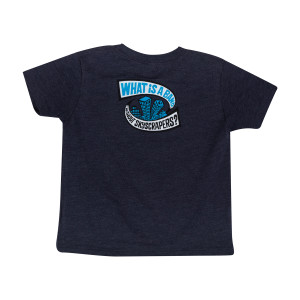 Kids Skyscrapers Reprise NYE 2018 Tee on Vintage Navy