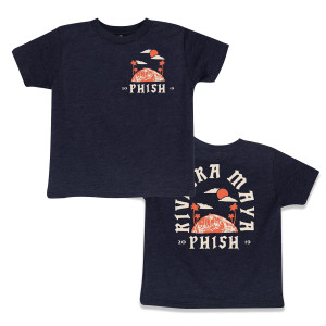 Kids Riviera Maya 2019 Surfer T on Vintage Navy