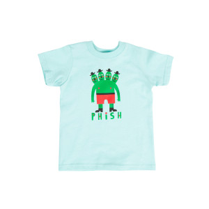 Four Headed Dude Kids Tee