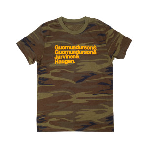 Kasvot Vaxt Nomenclature Tee on Camo