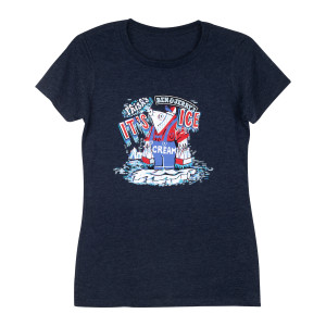 "Phish x Ben & Jerry's ""It's Ice... Cream"" Women's T-shirt"