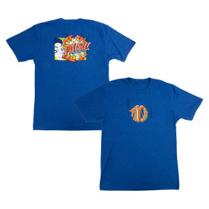 Bubble Gum Pop! Summer 2019 Tour Tee on Royal Blue